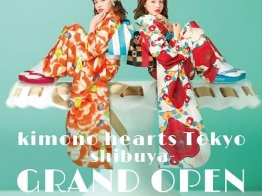 kimonohearts Tokyo-shibuya-オープン💟