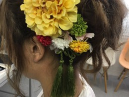可愛いヘアアレンジ&髪飾り♡と、スタッフの日常(どんまいな夏編)