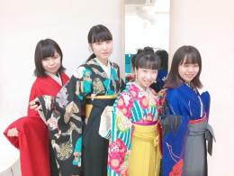私も袴を着たいです。