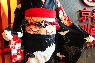 成人式に鶴柄の振袖は如何ですか!