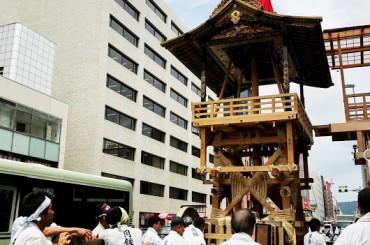 祇園祭と交通規制