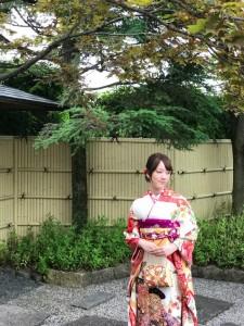 京都ロケ撮影 成人式前撮り
