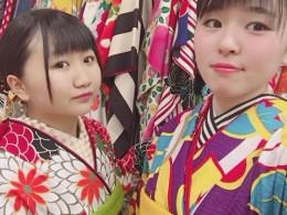 振袖おそろいコーデ♡+浴衣プレゼントガール