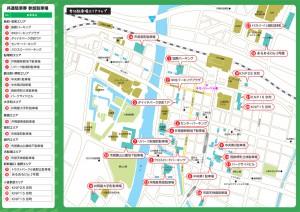 小倉共通駐車場地図