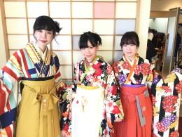 袴3人組~!!