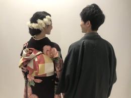 男の子も袴を着てお写真撮り!