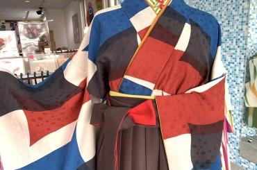 卒業式袴レンタル〜チョコ色袴にどんな着物合わせる〜