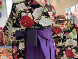 卒業式袴レンタル〜黒×紫の効果〜