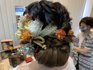 ヘアメイク相談会〜素敵な髪飾り〜