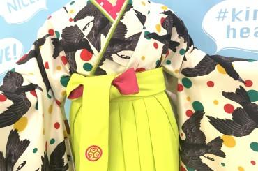 卒業式袴レンタル〜割と派手な袴コーディネート〜
