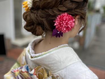 イマドキお嬢様のヘアアレンジ♪