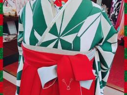 緑×赤といったら。。!