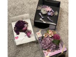 お振袖にお花を添えて^^🎀