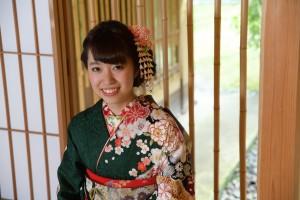 絞り 京都 振袖