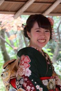 写真 成人式前撮り 京都市国際交流会館