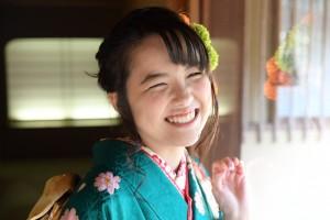 京都市国際交流会館、ヘアブーケ、成人式前撮り