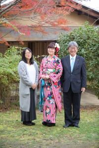 京都市国際交流会館、家族写真、famillyphoto