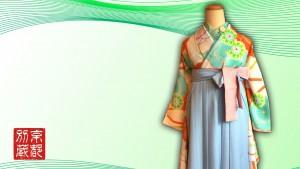 レトロ柄振袖 FL4101 リズリサ RIZRISA 美肌コーデ 袴レンタル
