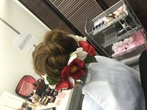 ヘアメイク相談会 ヘアブーケ 髪飾り