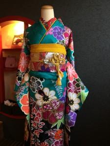 古典柄振袖 古典振袖 京都