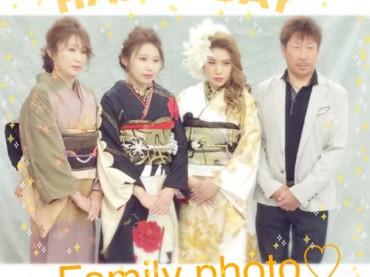 ご家族でお写真も♥